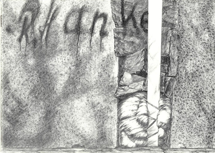 ausstellungskatalog hanke_mehrschichtig monographie_r_hanke kuenstler wanderausstellung_moers_augsburg_koblenz verlag_bischoff originaldesign