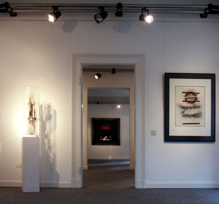 Raumfolge Ausstellung Zeichen Staedtische_Galerie Ditzingen Hanke Kuenstler