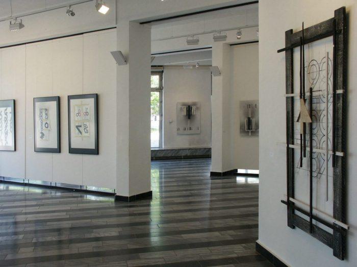 Raumfolge Ausstellung Zeichen_Haft Berlin Staedtische_Galerie_M Hanke Kuenstler