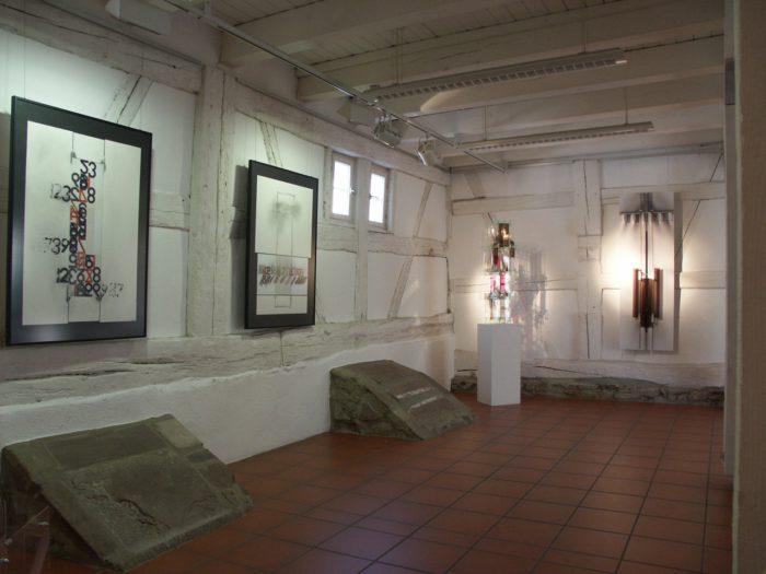 Raumeindruck Ausstellung Zeichen Staedtische_Galerie Ditzingen Hanke Künstler
