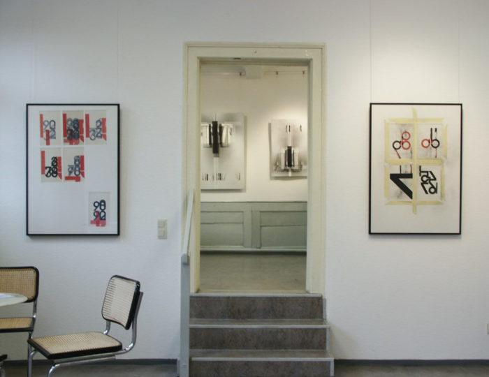 raumfolge_acrylglasobjekte_laserprint_folie ausstellung_schein kunstverein_erlangen hanke kuenstler