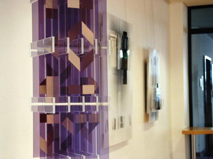 Acrylgalsobjekt Künstler hanke Schein IHK_Galerie Siegen Ausstellung