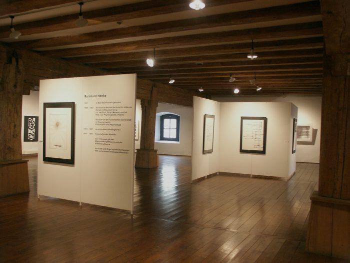 Raumeindruck Ausstellung Zeichen_Haft Regensburg Staedtische_Galerie Hanke Kuenstler