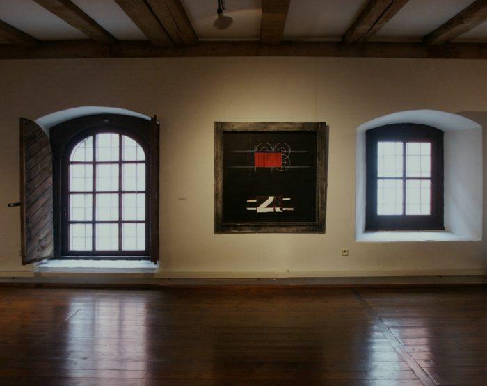 Impression Ausstellung Zeichen_Haft Regensburg Staedtische_Galerie Hanke Kuenstler