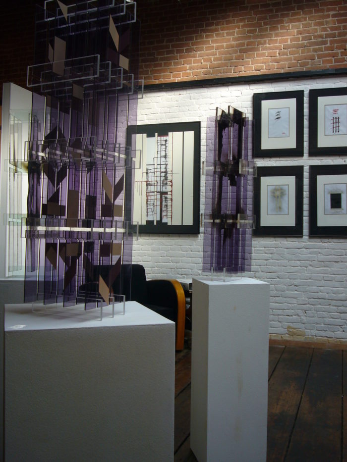 Acrylglasobjekte Ausstellung r_hanke Pakhuis_6 Rotterdam Kuenstler