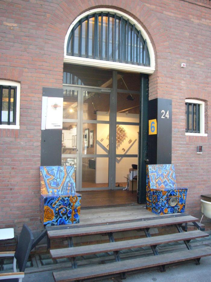 Entree Ausstellung r_hanke Pakhuis_6 Rotterdam Kuenstler