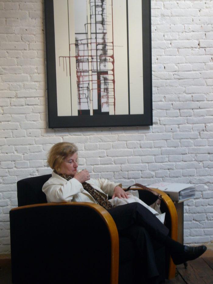 Medition_Kunstwerk Ausstellung r_hanke Pakhuis_6 Rotterdam Kuenstler