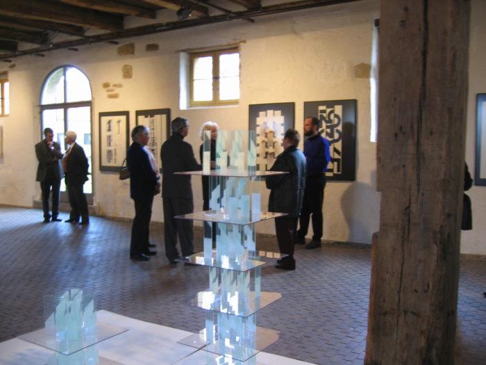 Ausstellungseindruck Ausstellung Kuenstler hanke Kulturforum-Kloster-Bentlage Rheine