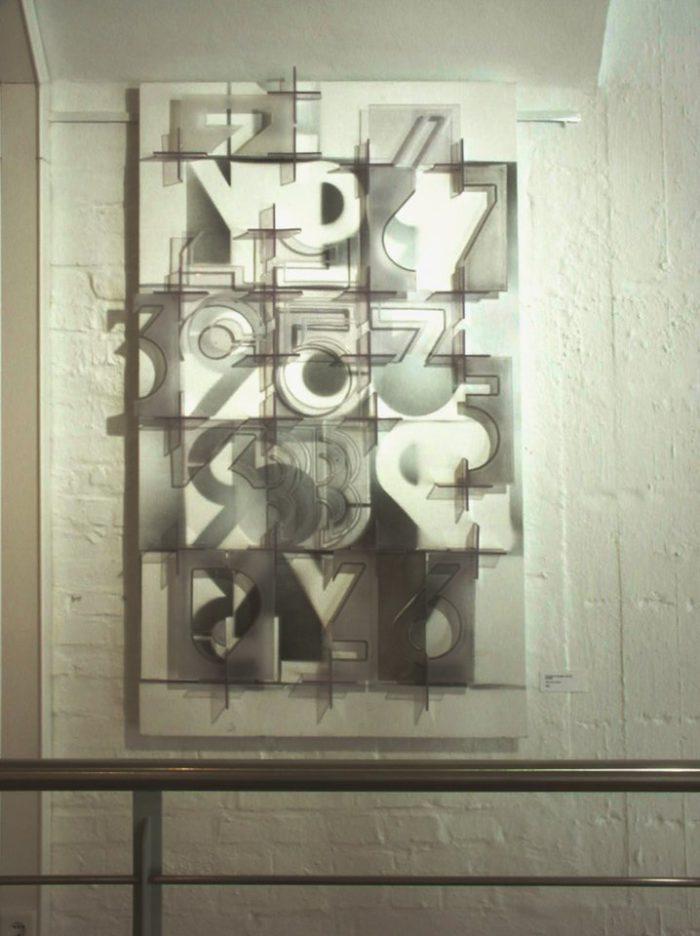 acrylglas_tableau_licht ausstellung_zeichen_haft kunst_im_turm_lippstadt hanke kuenstler