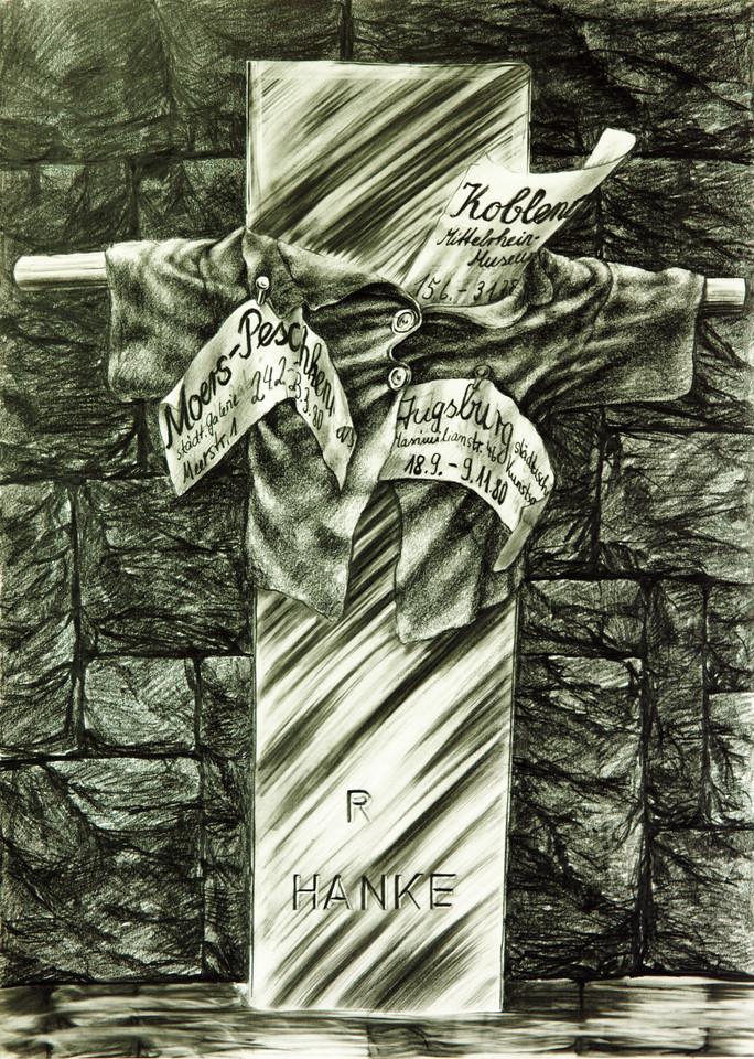 Ausstellungplakat R.Hanke_mehrschichtig Originaldesign Wanderausstellung Moers Koblenz Augsburg