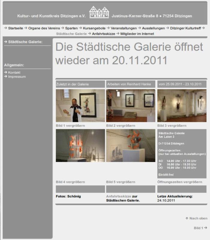 Pressemeldung Ausstellungseindruecke Ditzingen Staedtische_Galerie Ausstellung Stuttgarter_Zeitung