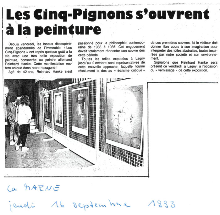 La_Marne Cinq-Pignons Zeitung Presse Zeitungsbericht Les_Cinq_Pignons_s_ouvrent_a_la_peinture Stadtgalerie Kunstausstellung Künstler