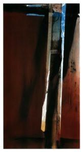 abstrakte Kunst ungewöhnlich Kunstwerk Temperamalerei mystisch modifiziert Modifikation unbunt starkfarbig reduziert Reduktion gestisch expressiv kontrastreich komplex Komplexität Struktur System Bildzeichen vielschichtig Überlagerung organisiert Relation Inspiration Imagination assoziativ Phantasie