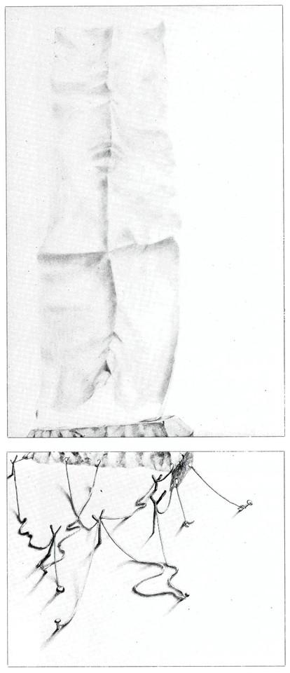 moderne Kunst ungewöhnlich Handzeichnung Reales Fels Papier Sockel Statue variabel Irritation Täuschung Schein figurativ realistisch irreal reduziert schwarzweiß mehrschichtig Kombination montieren Beziehung Metapher Zeichen mehrdeutig Assoziation Reflexion Phantasie Zeitkritik Fiktion Realität Realismus